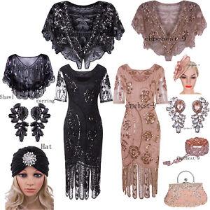 Vintage 50\'s Style Dress 1920s Flapper Dresses Party Prom ...
