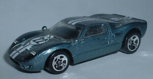 MODEL-CAR-034-FORD-GT-40-HOT-WHELS-034-Modellino-Macchinina-Thailand-1999