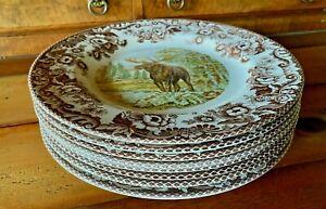 Spode-Woodland-Dinner-Plates-NEW-Multiple-Varieties