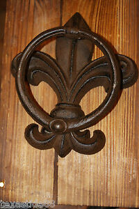 Delicieux Image Is Loading 1 PC DOOR KNOCKER FLEUR DE LIS DOOR