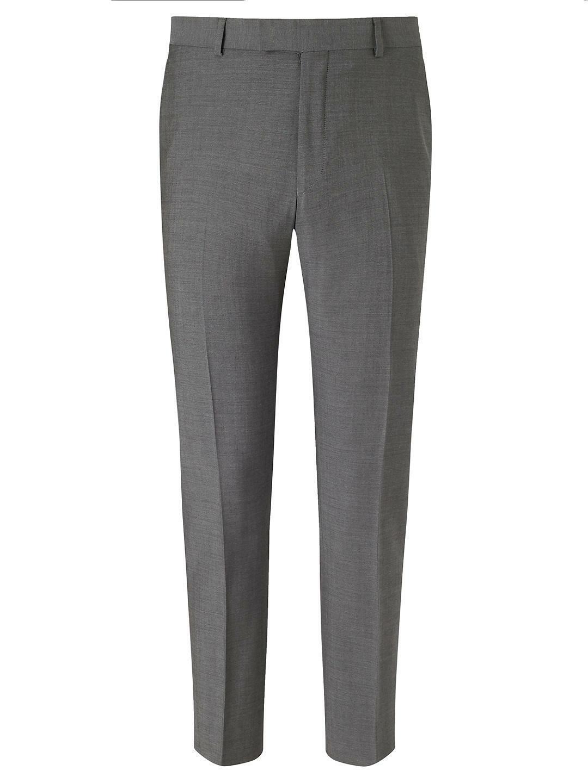 Richard James Mayfair Tonic Sheen Slim Suit Trousers, Grey Size 38R