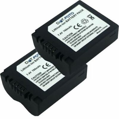 Batería 2x para Leica V-Lux vlux 1 v-lux1 vlux1 V-Lux I