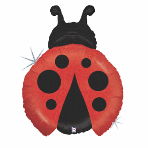"""COCCINELLE LADY BUG INSECTE Animal Big 32/"""" Ballons Foil Balloon Party Décoration"""