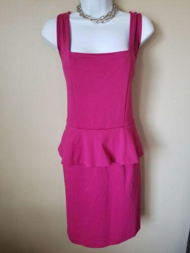 Miss Tina By Tina Knowles Peplum Pink Dress Size 1