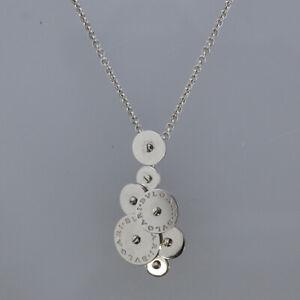 Bvlgari-18ct-White-Gold-Cicladi-Rotating-Disc-Pendant-Necklace