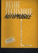 (C3A)REVUE TECHNIQUE AUTOMOBILE VOLKSWAGEN / TRACTEUR RENAULT 3.041