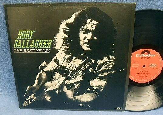 LP RORY GALLAGHER - THE BEST YEARS // UK ENGLAND POLYDOR