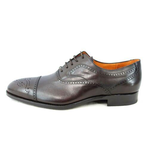 Remonte Hommes Business Chaussures Chaussure Melrose Marron Foncé Cuir NP 239 NEUF
