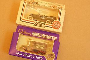 Rare-Models-of-Promotion-Vintage-Ford-15-Millionth-and-Purple-Cadbury-Commem-Van
