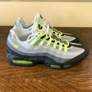 timeless design f93ef c6234 Details about Nike Air Max 95 No Sew 'Neon' - Size: 12 (511306 040)