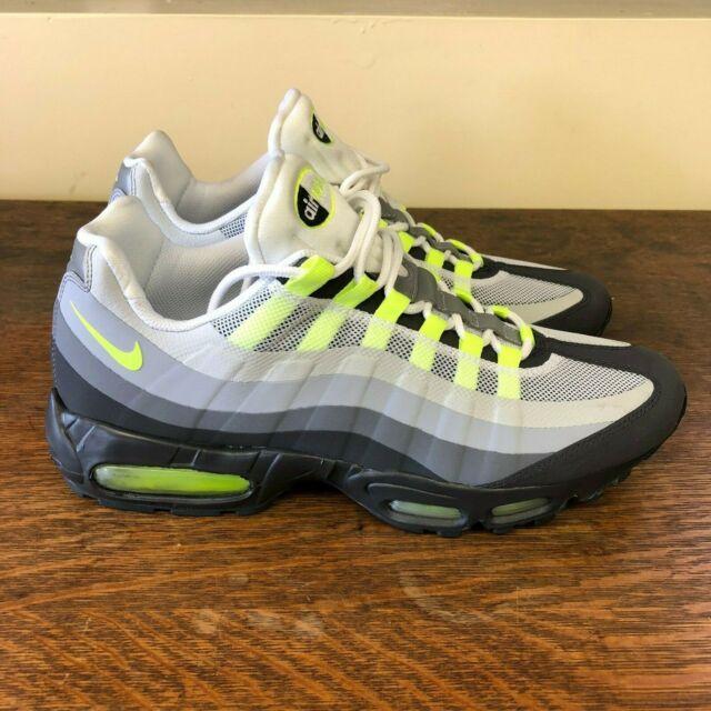 Nike Air Max 95 No Sew 'Neon' Size: 12 (511306 040)