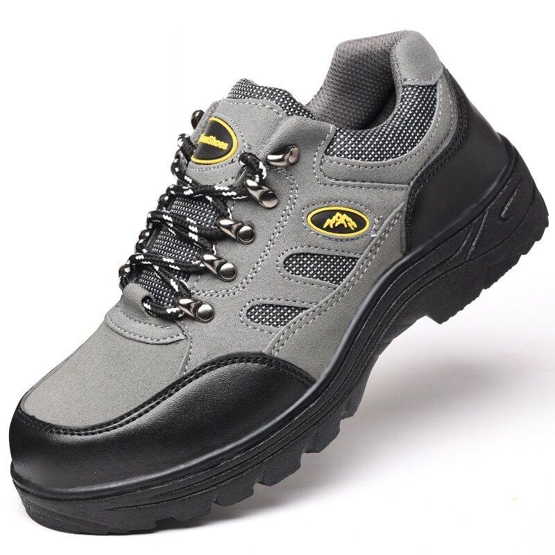 La prevenzione delle scarpe di di di sicurezza Uomo acciaio resistente stivali da lavoro occasionale. 20aa90