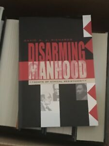 Disarming-Manhood-First-Edition-Hand-Signed-By-Author