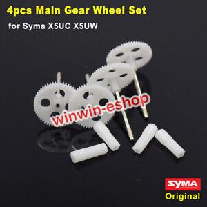 4PCS Original Gear Wheel Set for Syma X5UC X5UW RC Drone Quadcopter Spare Parts