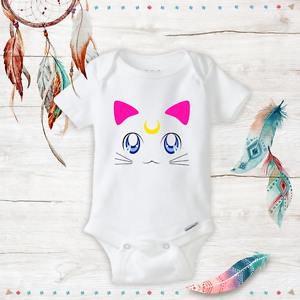 Newborn Baby Girl Clothes Anime Baby Sailor Moon Onesie Cat Geeky Onesies