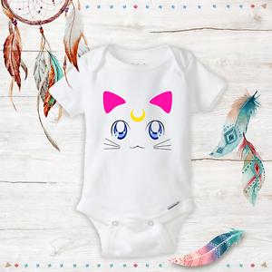 Baby Sailor Moon Onesie Cat Newborn Baby Girl Clothes Geeky