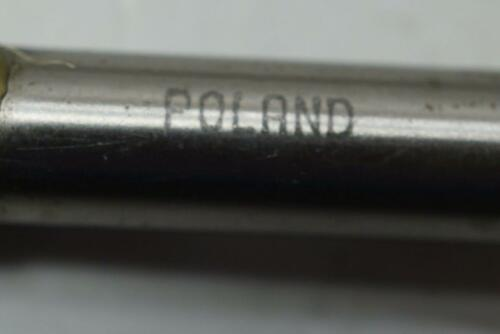 """4 New Polish Made 5//16/"""" No43D HSS 4 Flute Double Ended End mill 3//8/"""" shank."""