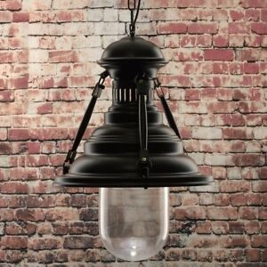 Details About Ottawa Traditional 8w Hanging Ceiling Led Light In Black Home Retail