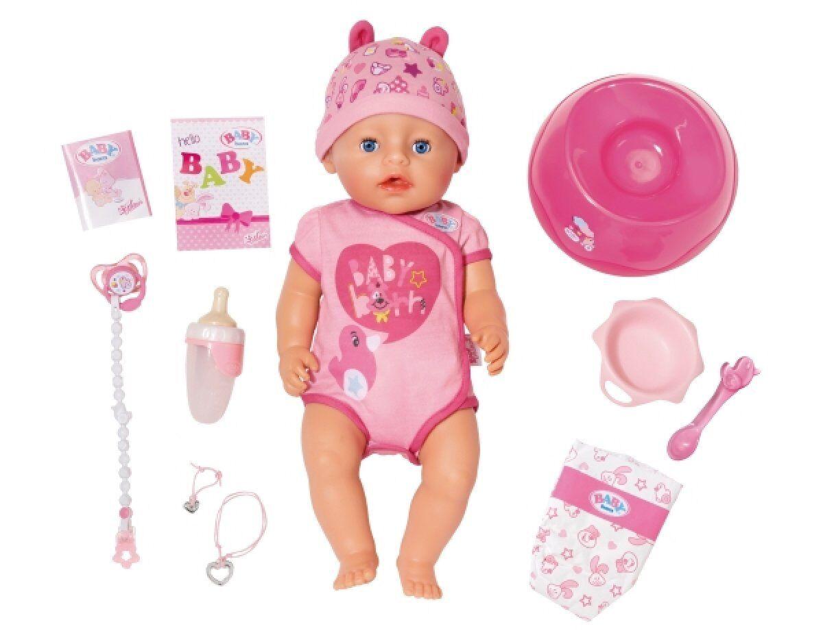 BABY born® Soft Touch Girl Blau Eyes Baby Mädchen 824368 NEU & OVP Zapf  | Attraktives Aussehen