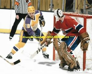super popular 99660 a13ca Details about MARCEL DIONNE At SIDE of NET vs Montreal YELLOW JERSEY 8x10  Photo LA KINGS HOF