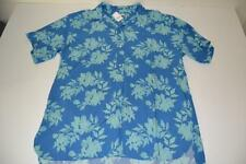 GAP HAWAIIAN FLORAL BLUE TROPICAL POCKET SHIRT MENS SIZE XL NEW