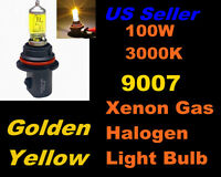 Golden Yellow Xenon 100w Bulb- Lincoln 2002 Blackwood High/low Beam 9007/hb5