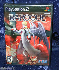 BAROQUE PS2 ATLUS PLAYSTATION BRAND NEW & FACTORY SEALED