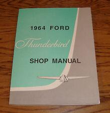 1964 Ford Thunderbird Shop Service Manual 64 T-bird