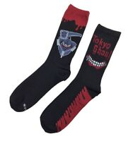Tokyo Ghoul Bloody Anime Officially Licensed 2 Pack Crew Socks on sale