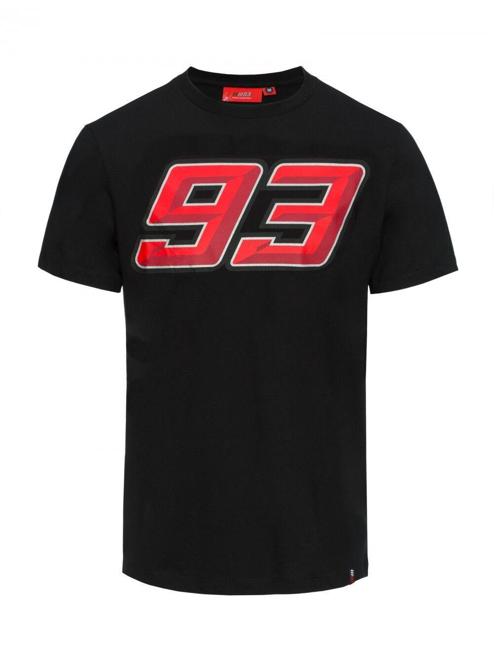 MARC MARQUEZ UFFICIALE 93 T-shirt nera - mmmts 18 33009