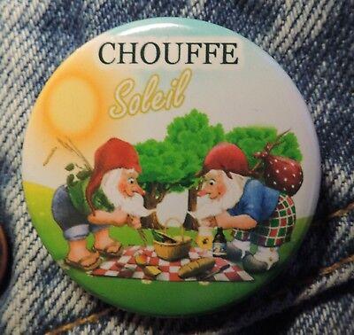 Pin Button Badge Ø38mm  La chouffe Soleil 5