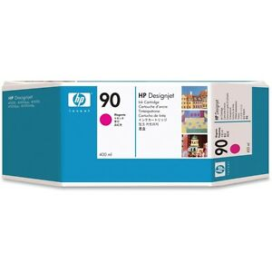 ORIGINAL-HP-90-C5063A-AGENTA-tinta-400ml-Designjet-4000-4500-4520-MHD-11-2017