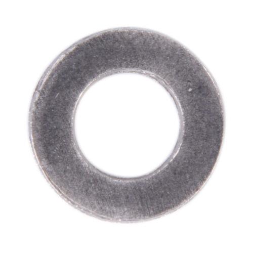 100PCS Stainless Steel Washers Metric Flat Washer Screw Kit M3 M4 M5 M6 M8 M10 J