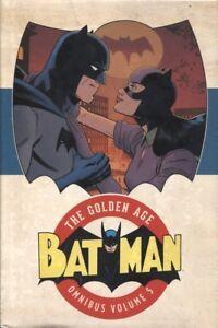 BATMAN THE GOLDEN AGE OMNIBUS HC VOL 5 DC COMICS SEALED//NEW