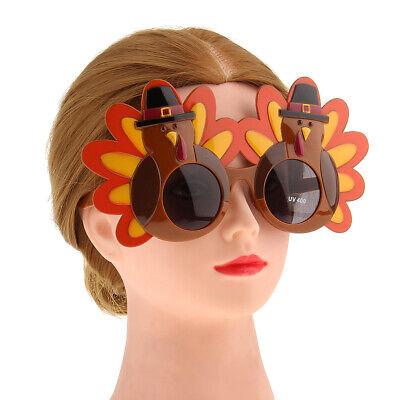 Thanksgiving Eyeglasses Turkey Party Fancy Dress Costume Sunglasses Gag Gift