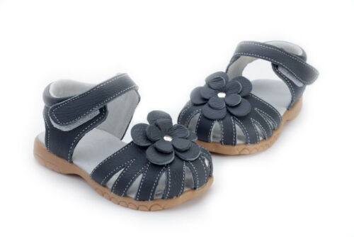Genuine Leather Sahara sandals navy blue appx1-5yr baby toddler kids child shoes