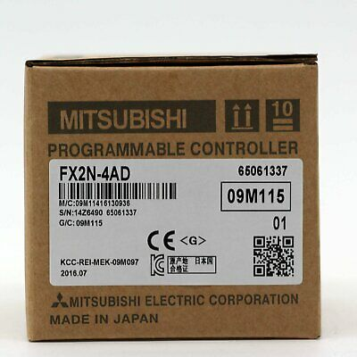 1PC Mitsubishi FX2N-4AD PLC New In Box FX2N4AD