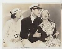 "S.Eilers, Z.Pitts, C.Starrett in ""3 On a Honeymoon"" 1934 Vintage Movie Still"