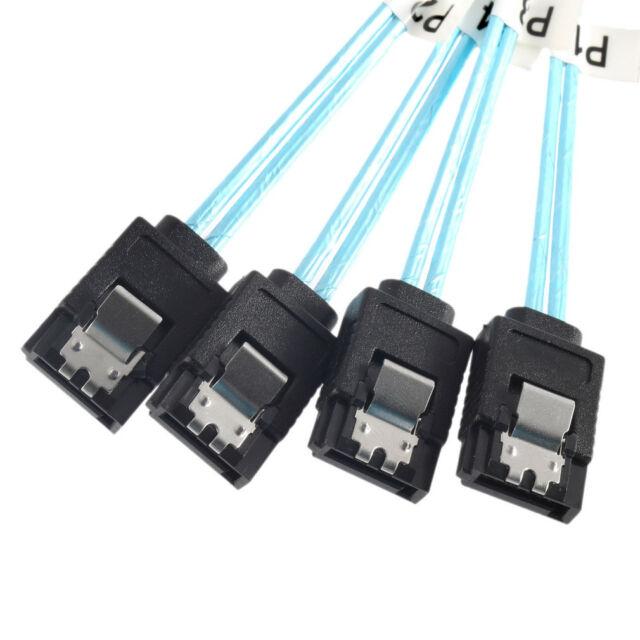 Internal Mini SAS SFF-8087 36P to 4 x SATA 7 Pin External Connector 1.5FT Cable