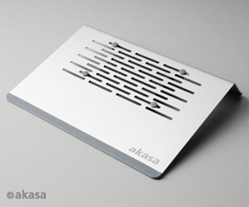 """Akasa Aries Netbook Cooler Aluminium 11.6/"""" AK-NBC-15AL"""