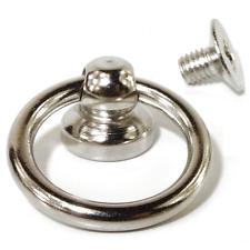 O-Ring 12mm in Halterung mit Schraube // Gothic / Ring der O / Steampunk Fesseln