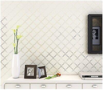 Diamond Non-woven Wallpaper Roll