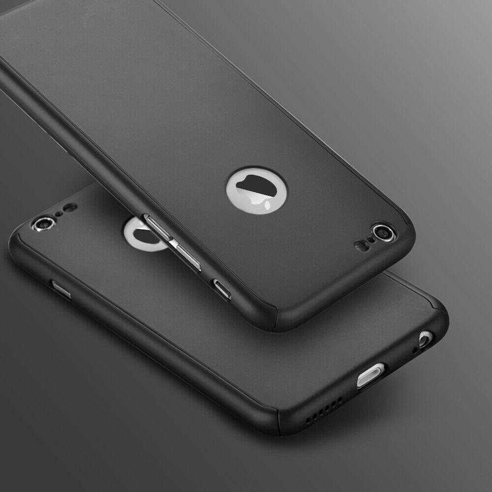 For iPhone 6s 7 8 5s Plus XR XS Max Case Shockproof360 Bumper Hybrid Phone Cover 6
