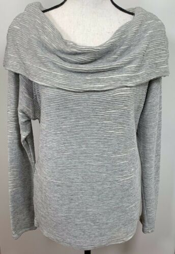 Anthropologie Dolan Long Sleeve Knit Top Small Gre