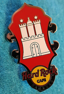 Hambourg-Allemagne-Coeur-Headstock-Series-Ville-Chateau-Flag-Hard-Rock-Cafe-Pin