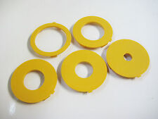 Router Table Accessory Insert Ring Set, Ryobi BT3000, Set of 5, 65mm OD,