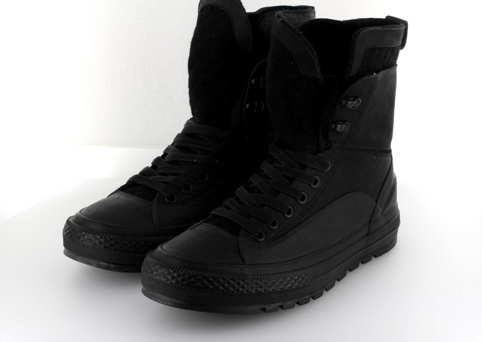 Converse Chuck Taylor AS Hi Street Hiker Boot Black Leder Fulton 42,5   43 US9