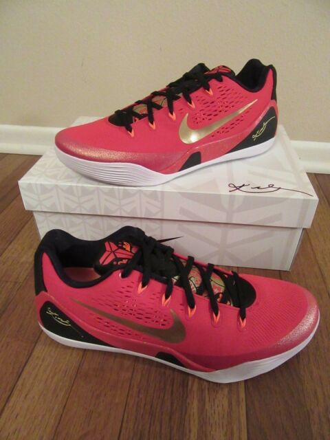pretty nice 08f19 a34c8 NIKE KOBE 9 IX CH CHINA PACK Size 12 University Red Metallic Gold 683251 670  NIB