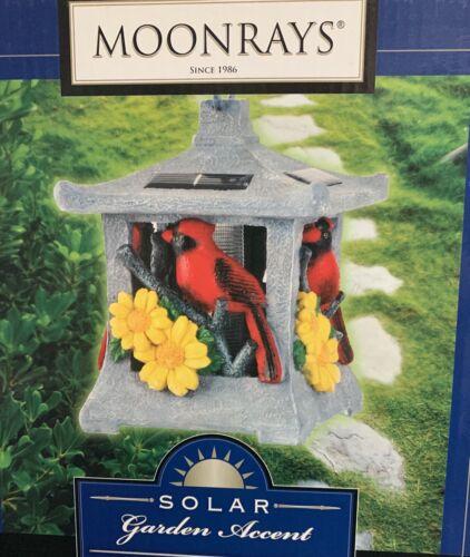 Cardinal solar garden decor by Moonrays