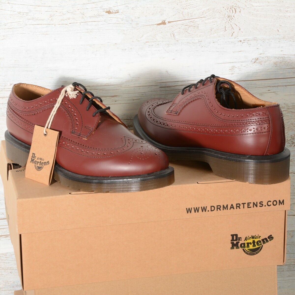 DR MARTENS 3989 Cherry 13844600 ROT Rouge 13844600 Cherry Smooth a31161